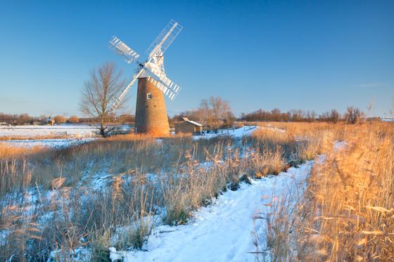 Hardley Windmill on the Norfolk Broads